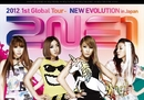 2NE1 2012 1st Global Tour - NEW EVOLUTION in Japan/2NE1