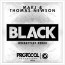 Black(Wildstylez Remix)/MAKJ & Thomas Newson