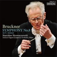 ブルックナー:交響曲第8番/スタニスラフ・スクロヴァチェフスキ指揮/読売日本交響楽団