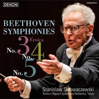 ベートーヴェン:交響曲第3番/第4番/第5番、他/スタニスラフ・スクロヴァチェフスキ指揮/読売日本交響楽団