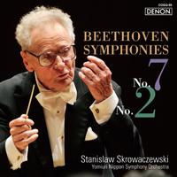 ベートーヴェン:交響曲第7番・第2番/スタニスラフ・スクロヴァチェフスキ指揮/読売日本交響楽団