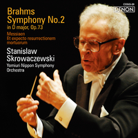 ブラームス:交響曲第2番 (2.8MHz DSD)