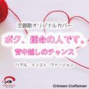 背中越しのチャンス ボク、運命の人です。主題歌(リアル・インスト・ヴァージョン)/Crimson Craftsman