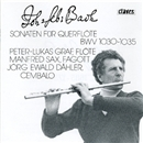 J・S・バッハ:6つのフルート・ソナタ BWV.1030~1035/ペーター・ルーカス・グラーフ マンフレート・ザックス イェルク・エーヴァルト・デーラー