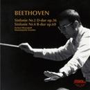 ベートーヴェン:(1)交響曲第2番/(2)交響曲第4番/ヘルベルト・ブロムシュテット<指揮>/ドレスデン・シュターツカペレ