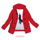 赤いコート/スネオヘアー