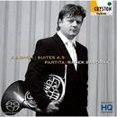 J.S.バッハ:組曲第4、5番、パルティータ <無伴奏チェロ組曲&無伴奏フルート・ソナタ ホルン版>/ラデク・バボラーク