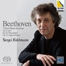 ベートーヴェン: 3つのピアノ・ソナタ 第4番、第14番「月光」、第23番「熱情」/セルゲイ・エデルマン