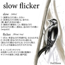 slow flicker(live ver.)/FoZZtone