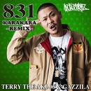 831KARAKARA REMIX -Single/TERRY THE AKI-06 & GAZZILA