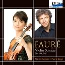 フォーレ:ヴァイオリン・ソナタ 第 1番、第 2番/小林美恵/パスカル・ロジェ