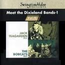 スイングタイム・ビデオ 第18集/陽気なディキシーランド・ジャズ/ジャック・ティーガーデンと六重奏団、ザ・ボブキャッツ、ジェス・ステイシー 、ボブ・ハガート(b),/レイ・バデューク (ds)、エディ・ミラー (ts)