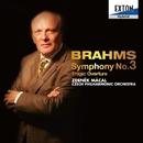 ブラームス:交響曲第 3番、大学祝典序曲/ズデニェク・マーツァル/チェコ・フィルハーモニー管弦楽団
