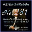 カンタータ第45番 人よ、汝はさきに告げられたり、善きことの何なるか BWV45/石原眞治