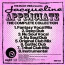 The Mack Vibe presents Jacqueline Appreciate The Complete Collection/Mack Vibe (Al Mack)