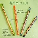 篠笛でお正月/URIANA & RIKA OHNO, 大野利可、TJFE