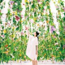 Floating Flower Garden; 花と我と同根、庭と我と一体/高橋英明 teamLab