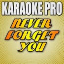 Never Forget You (Originally Performed by Zara Larsson & MNEK) [Instrumental Version]/Karaoke Pro