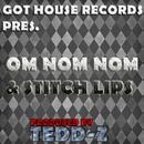 Om Nom Nom & Stitch Lips/Tedd-Z