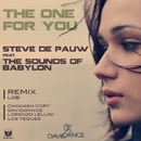 The One For You/Daviddance & Lorenzo Lellini & Los Teques & Steve De Pauw & Chadash Cort