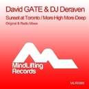 Sunset At Toronto / More High More Deep/David GATE & DJ Deraven