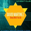Doing What You Do - Single/David Martinez
