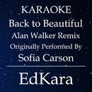 Back to Beautiful Alan Walker Remix (Originally Performed by Sofia Carson) [Karaoke No Guide Melody Version]/EdKara