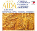 AIDA  Opera in Four Acts/James Levine / Metropolitan Opera Orchestra And Chorus