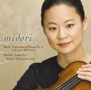 Bach:Sonata No.2 in A minor /Bartok :Sonata No.1/Midori