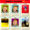 NIAGARA CALENDAR '78/NIAGARA FALL OF SOUND ORCHESTRAL