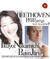 ベートーヴェン:ピアノ協奏曲第1番、第2番&第4番