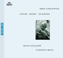 グラウン/クレブス/テレマン:オーボエ協奏曲集/Heinz Holliger, Camerata Bern, Thomas Füri