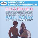 """Chabrier: España; Suite pastorale; Fete Polonaise; Overture """"Gwendoline""""; Danse Slave; Roussel: Suite in F/Detroit Symphony Orchestra, Paul Paray"""