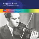 Ruggiero Ricci: Decca Recordings 1950-1960/Ruggiero Ricci
