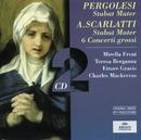 ペルゴレージ/スカルラッティ:「スターバト・マーテル」/Scarlatti Napoli Orchestra, Ettore Gracis, Paul Kuentz Chamber Orchestra, Sir Charles Mackerras