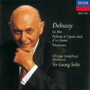 ドビュッシー:夜想曲、交響詩<海>、牧神の午後への前奏曲/Chicago Symphony Orchestra Women's Chorus, Chicago Symphony Orchestra, Sir Georg Solti
