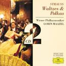 J.シュトラウス:ワルツ&ポルカ/Wiener Philharmoniker, Lorin Maazel