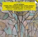 Schoenberg: Ode to Napoleon; Webern: String Trio/Stefan Litwin, LaSalle Quartet, Kenneth Griffiths