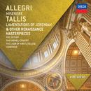 アレグリ:ミゼレーレ、タリス:預言者エレミアの哀歌/The Sixteen, Gabrieli Consort, The Choir of King's College, Cambridge