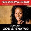 God Speaking (Performance Tracks) - EP/Mandisa