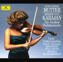 The Great Violin Concertos (4 CD's)/Anne-Sophie Mutter, Berliner Philharmoniker, Herbert von Karajan