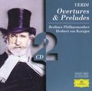 Verdi: Overtures & Preludes (2 CDs)/Berliner Philharmoniker, Herbert von Karajan
