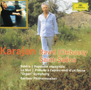 """Ravel: Bolero; Rapsodie espagnole / Debussy: La mer; Prélude à l'après-midi d'un faune / Saint-Saens: """"Organ"""" Symphony (2 CDs)/Berliner Philharmoniker, Herbert von Karajan"""