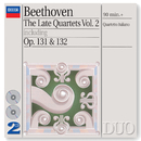 Beethoven: The Late Quartets, Vol.2 (2 CDs)/Quartetto Italiano