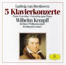 Beethoven: 5 Piano Concertos (3 CD's)/Wilhelm Kempff, Berliner Philharmoniker, Ferdinand Leitner