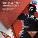 Shostakovich: Symphonies Nos.1 & 5/London Philharmonic Orchestra, Concertgebouw Orchestra of Amsterdam, Bernard Haitink