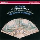 Bach, J.C.: 6 Symphonies, Op.3/Academy of St. Martin in the Fields, Simon Preston, Sir Neville Marriner