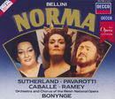 ベルリ-ニ:歌劇「ノルマ」全曲/Dame Joan Sutherland, Luciano Pavarotti, Montserrat Caballé, Samuel Ramey, Chorus of the Welsh National Opera, Orchestra of the Welsh National Opera, Richard Bonynge