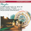 Haydn: Symphonies Nos. 94, 100 & 101/Wiener Symphoniker, Wolfgang Sawallisch