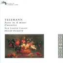 Telemann: Recorder Concertos/Philip Pickett, Mark Levy, New London Consort